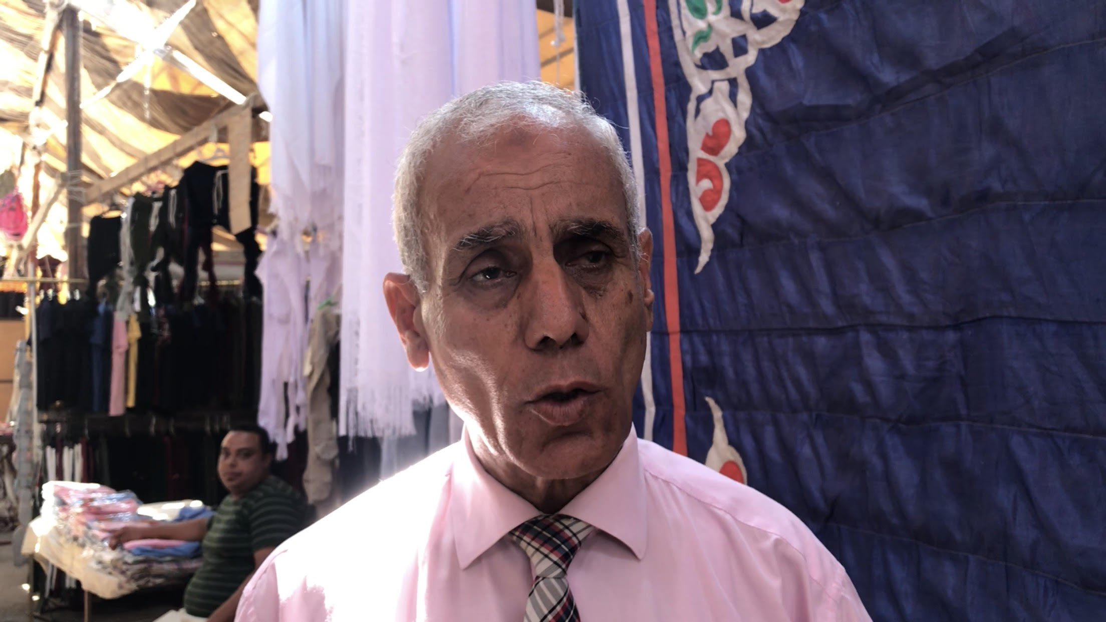 رئيس الغرفة التجارية بشمال سيناء
