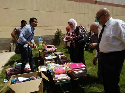تعليم القاهرة تنظم معرض لمسستلزمات المدارس مجانا بالمعصرة  (4)