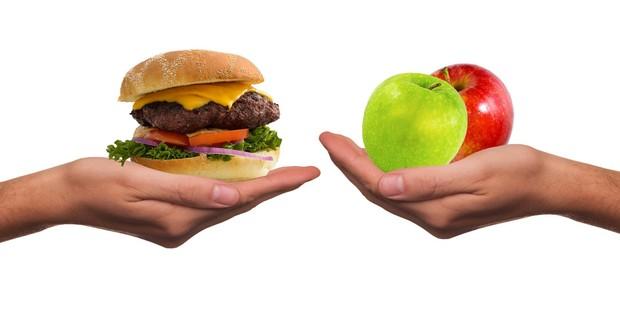 استبدال الأكلات السريعة بأطممة صحية