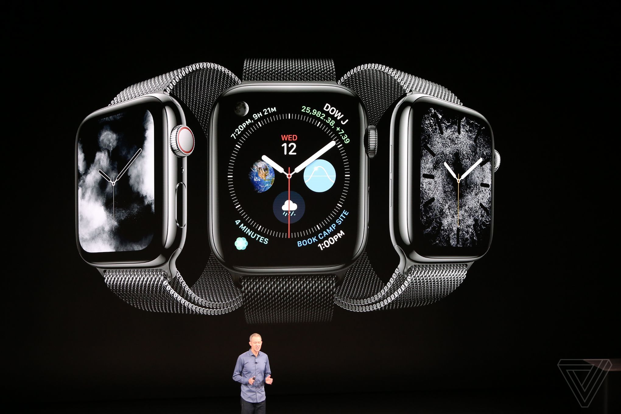 996e259ec أخر كلام | أبل تكشف رسميًا عن ساعتها الذكية الجديدة Apple Watch Series 4