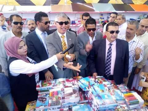 تعليم القاهرة تنظم معرض لمسستلزمات المدارس مجانا بالمعصرة  (5)