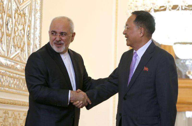 وزير خارجية كوريا الشمالية زار طهران بعد توترها الأخير مع واشنطن