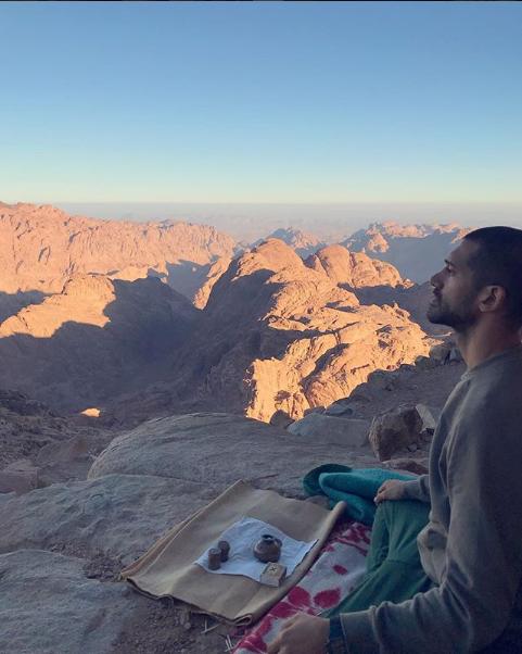 أحمد مجدى ورياضة اليوجا