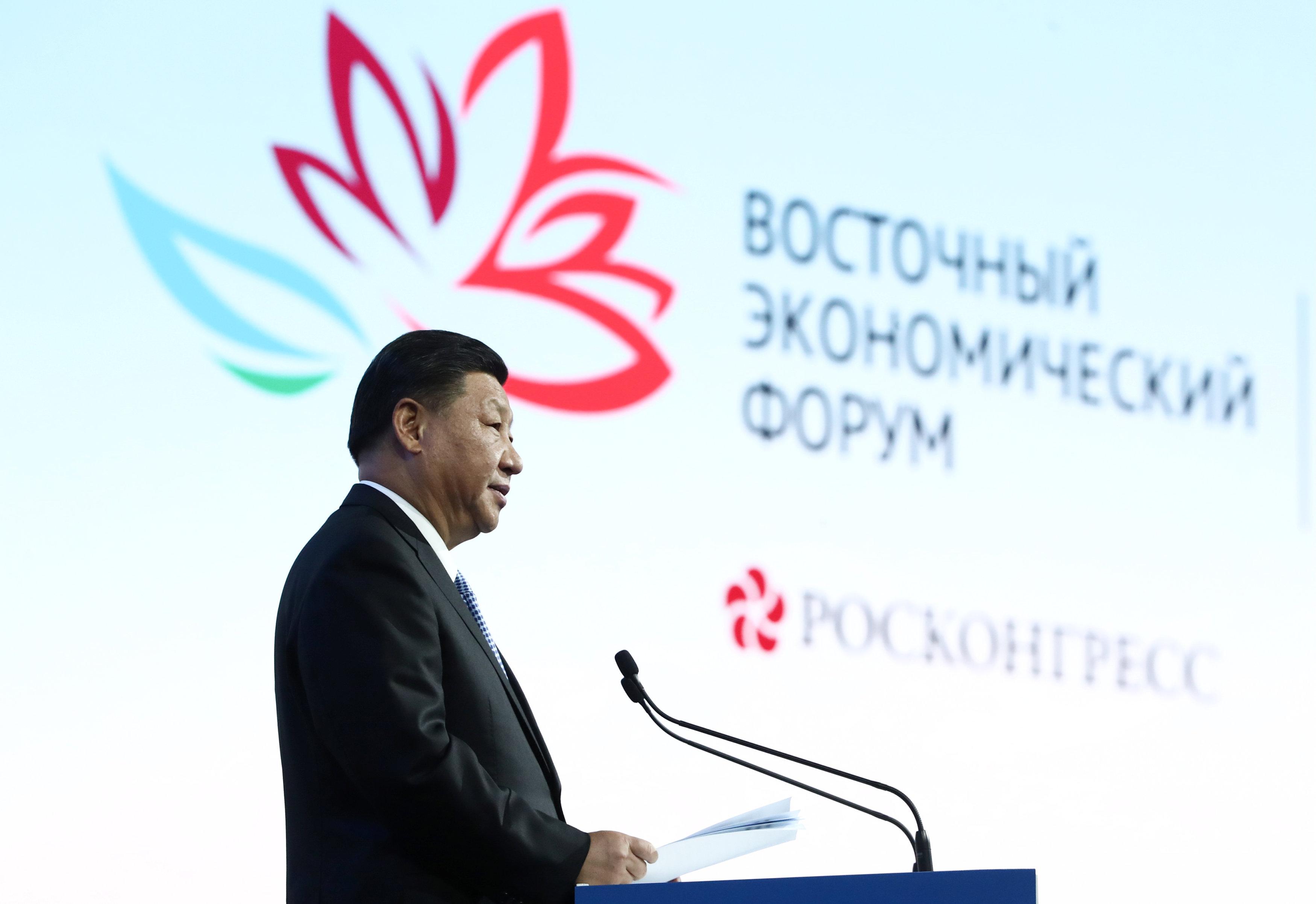 4 – الرئيس الصينى يلقى كلمته فى المنتدى