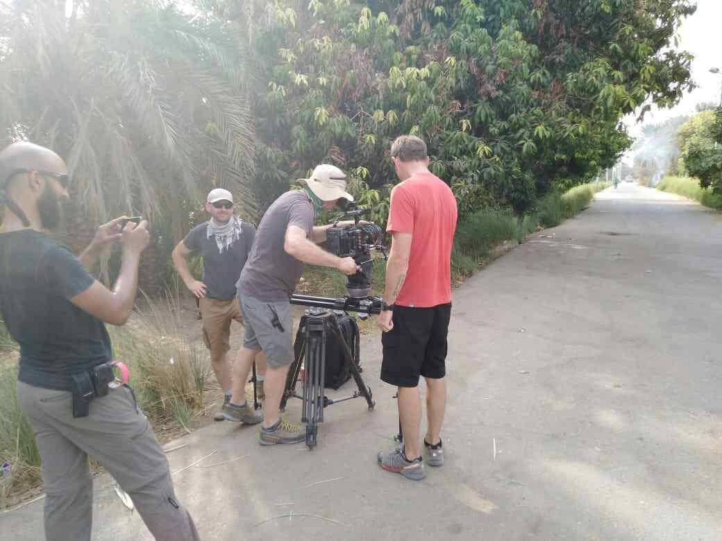 تصوير فيلم وثائقى عن النيل بأسوان (4)