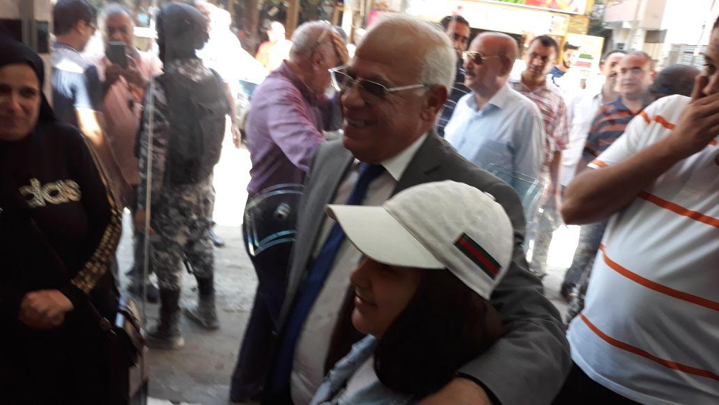 جولة محافظ بورسعيد في منطقة سوق البازار  (4)