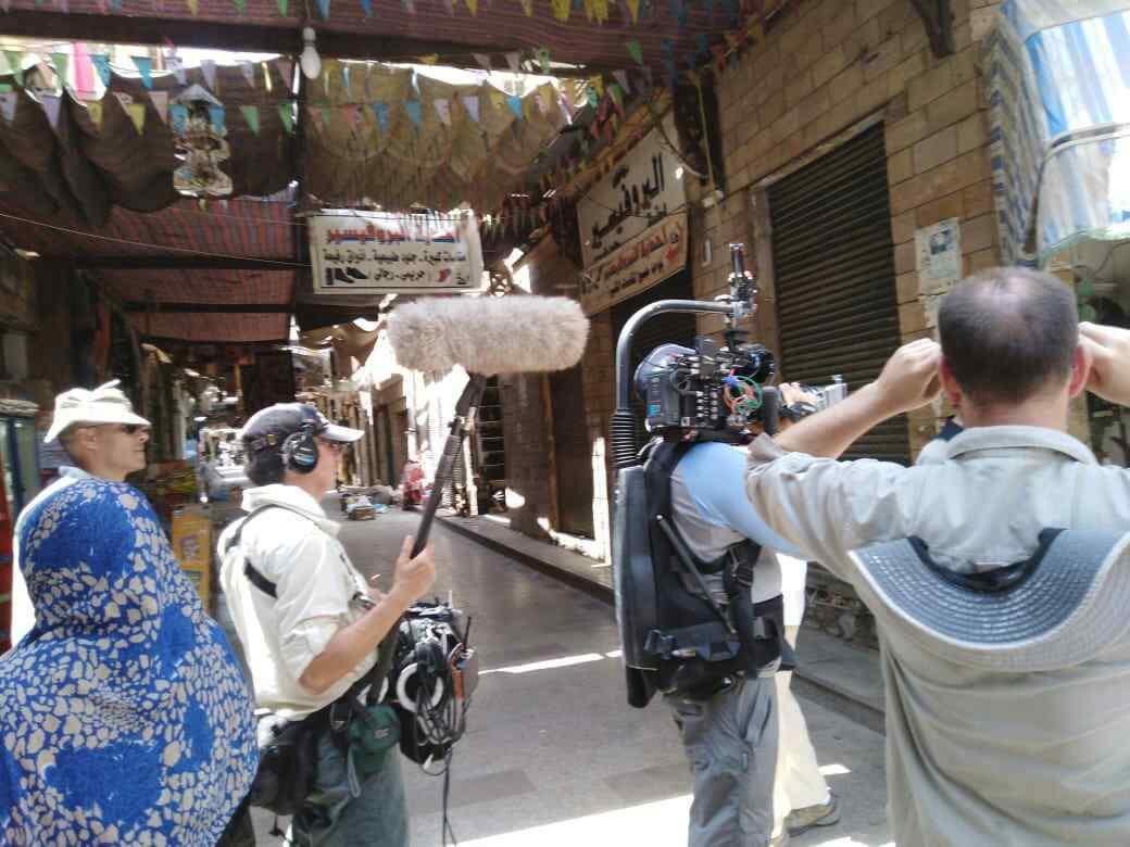 تصوير فيلم وثائقى عن النيل بأسوان (2)