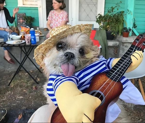 مارنى تعزف الموسيقى