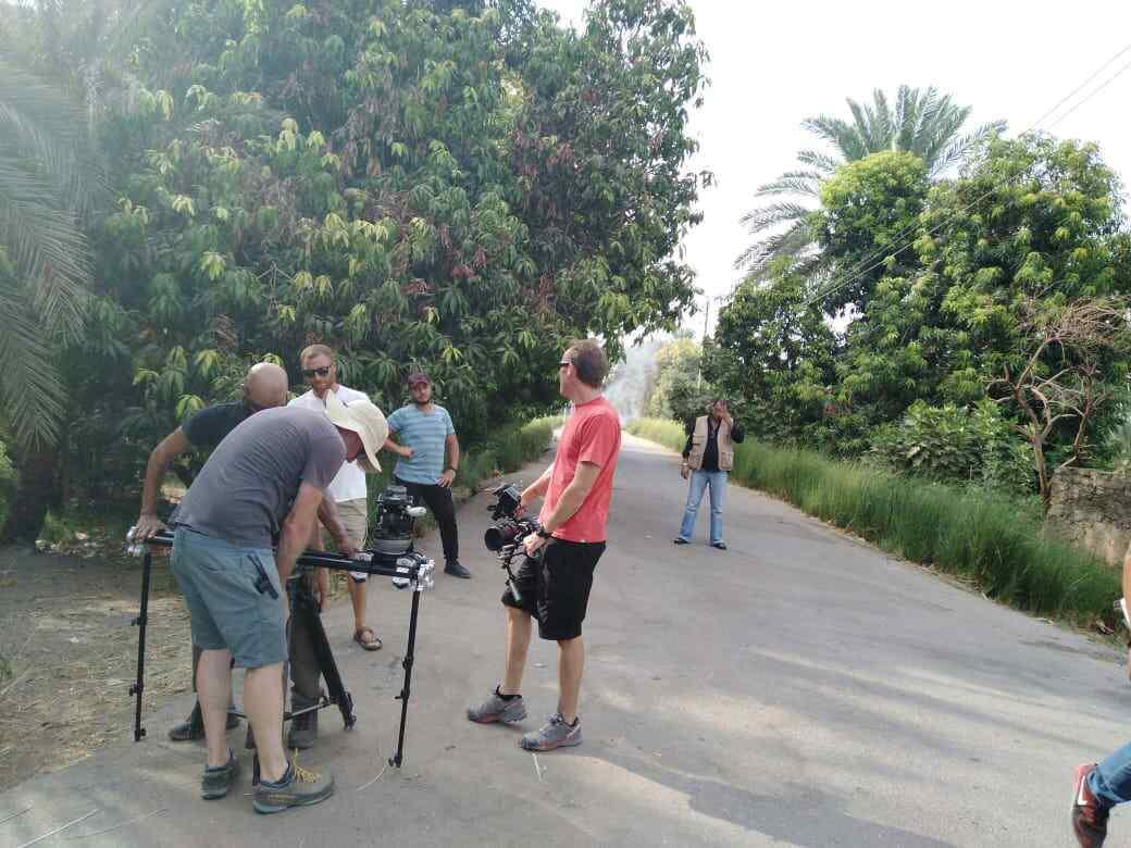 تصوير فيلم وثائقى عن النيل بأسوان (3)