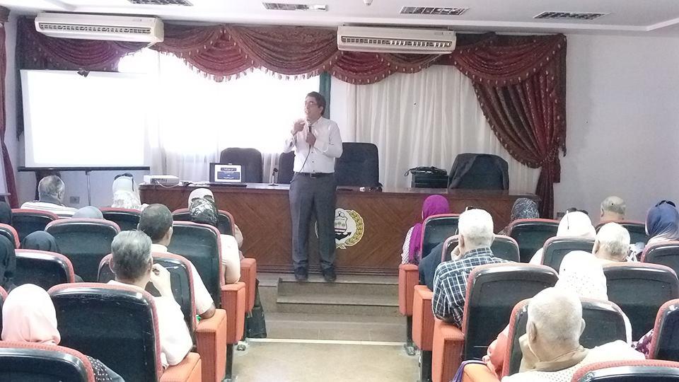 فاعليات تدريبات الموجهين بالمعهد العالى للخدمة الإجتماعية (5)