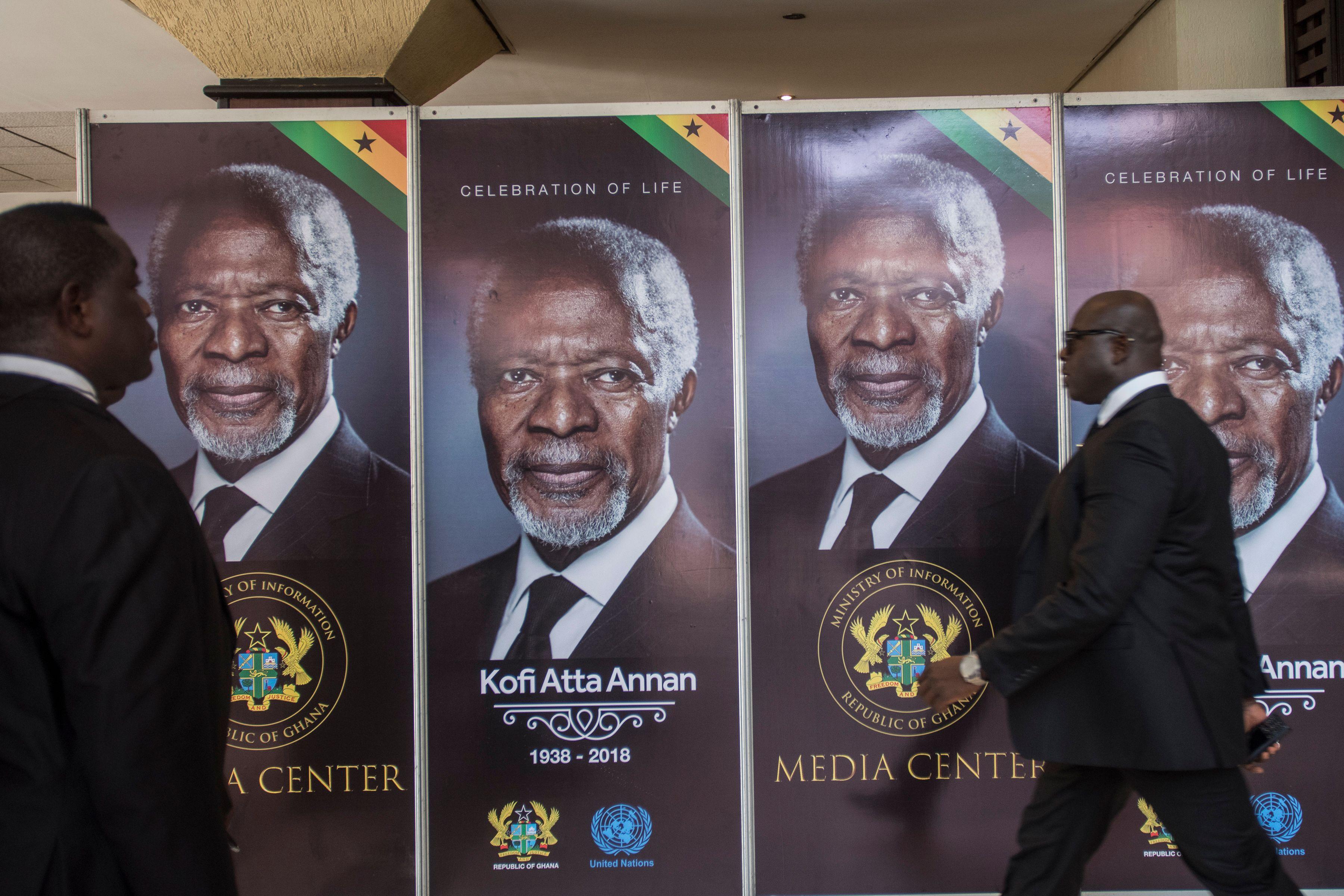 صور الأمين العام الأسبق للأمم المتحدة