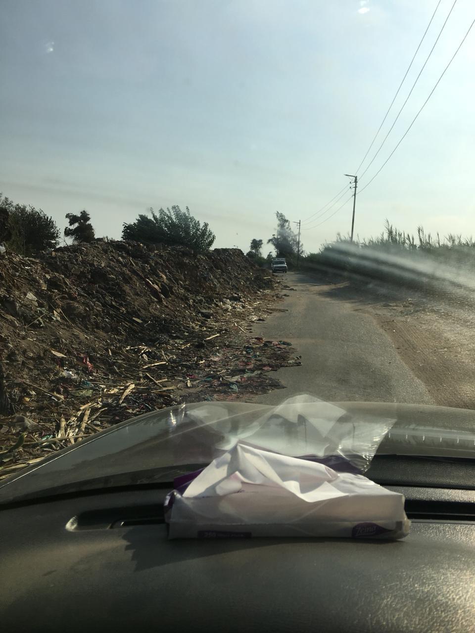 سوء حالة طريق الخضراوية (1)