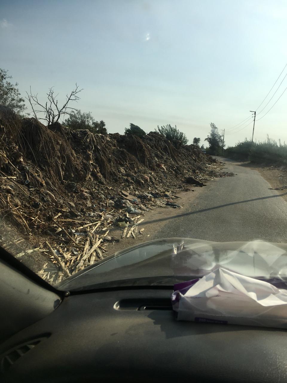 سوء حالة طريق الخضراوية (3)