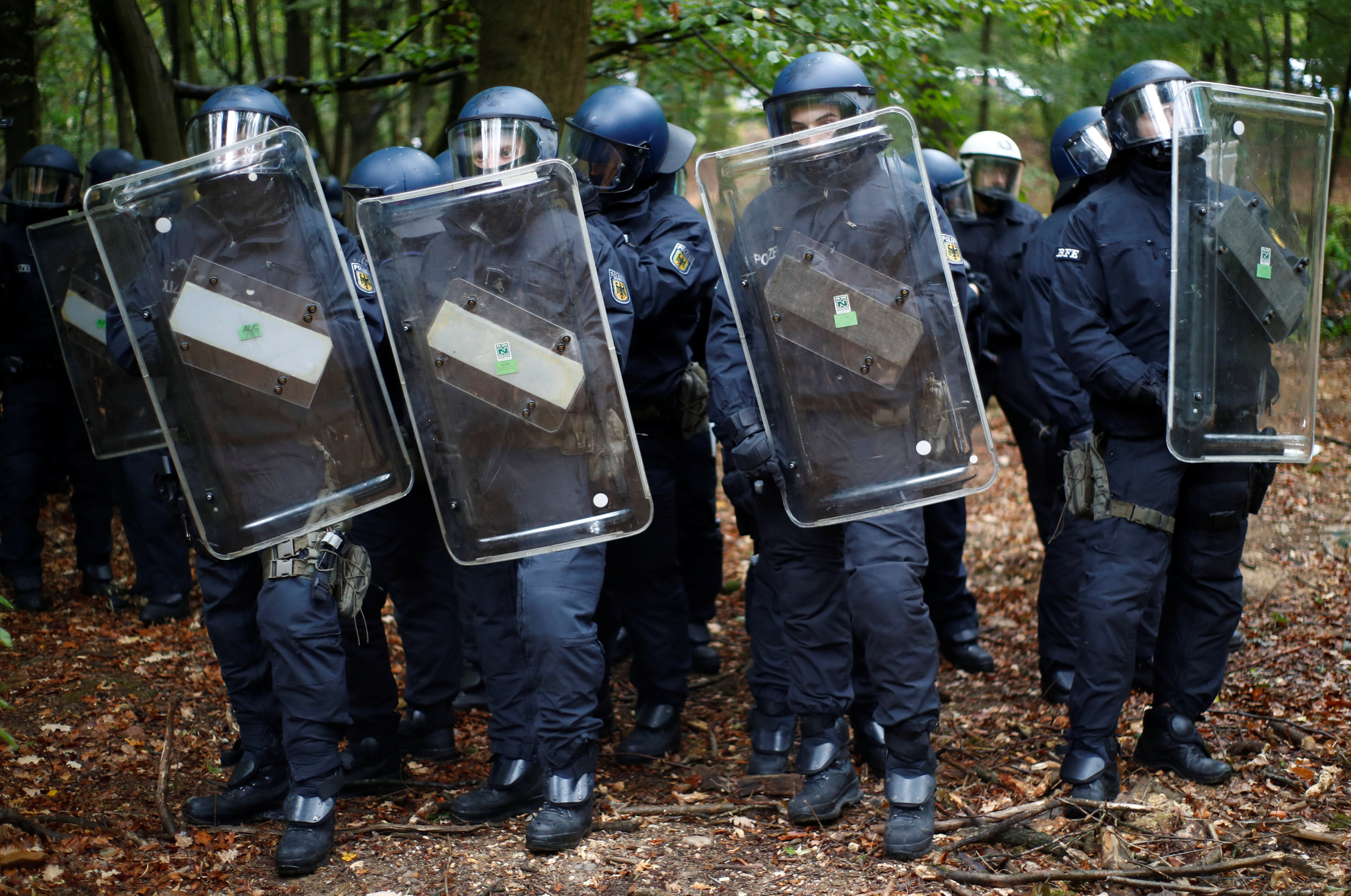 قوات الأمن الألمانى