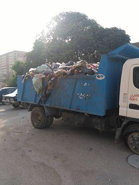 انتشار القمامة بشارع عمرو بن العاص فى السلام  (4)