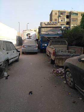 انتشار القمامة بشارع عمرو بن العاص فى السلام  (2)