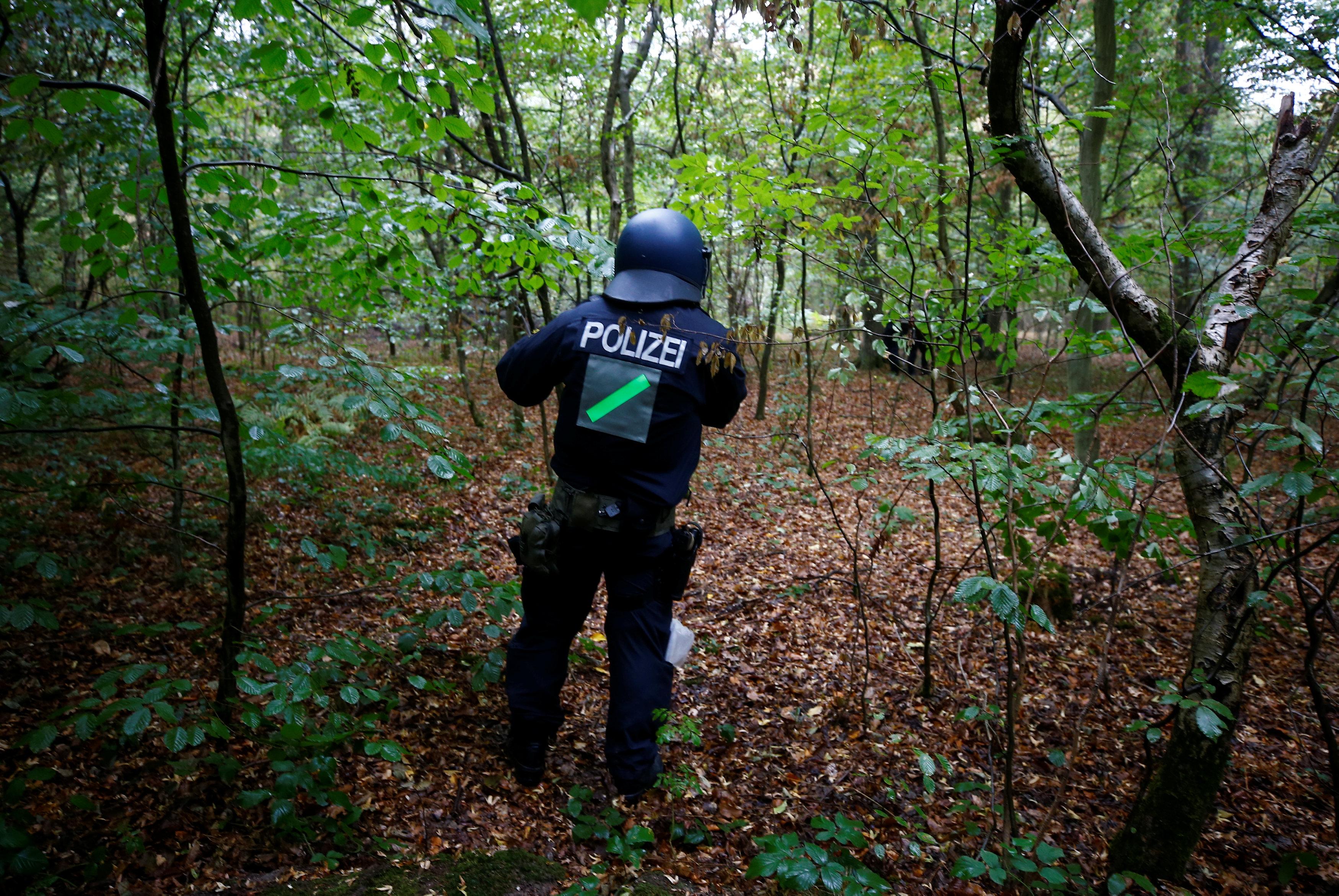 شرطى ألمانى