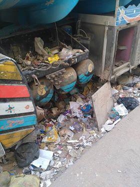 انتشار القمامة بشارع عمرو بن العاص فى السلام  (3)