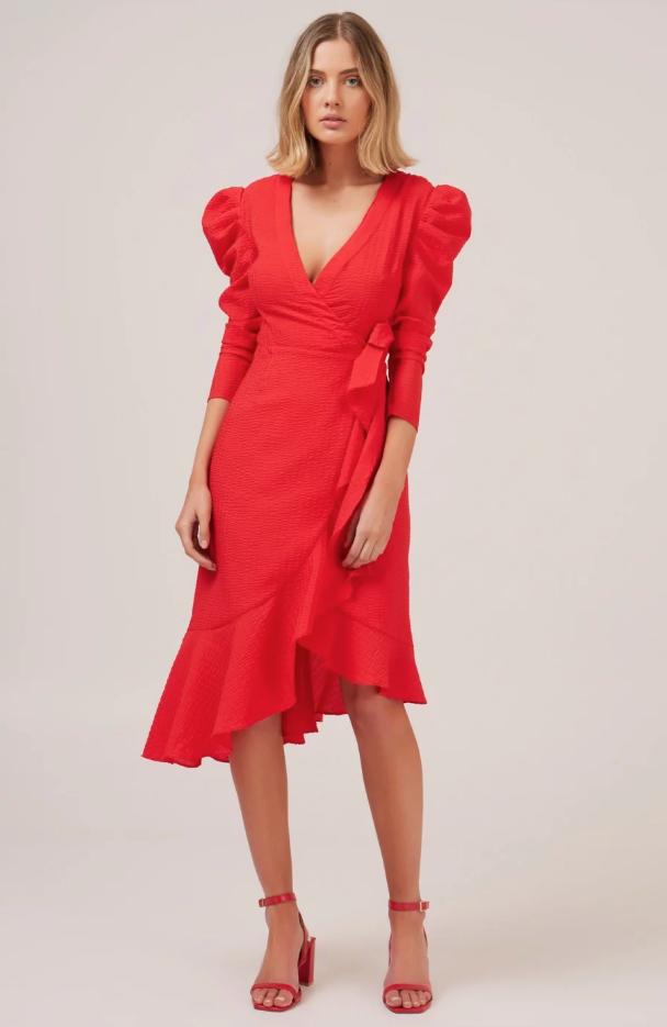 فساتين ـ فستان مناسب للجسم الكمثرى