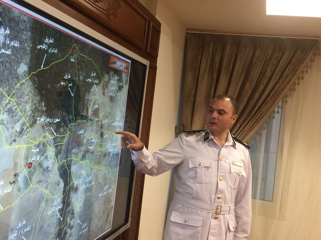 الرائد محمد الشربيني يشرح لليوم السابع مسار الطريق الإقليمي الجديد