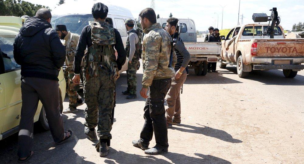 جبهة النصرة فى إدلب