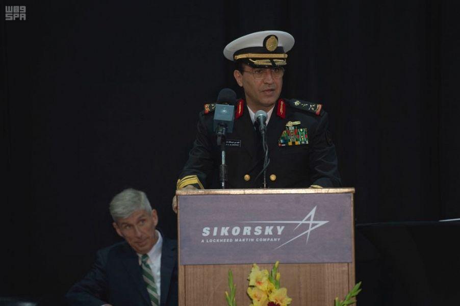 قائد البحرية السعودية الفريق الركن فهد بن عبد الله الغفيلى