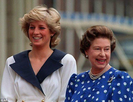 الأميرة مارجريت وديانا