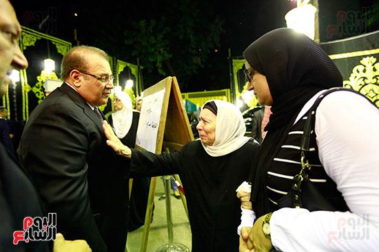 صور عزاء شقيقة الدكتور حسن راتب (26)