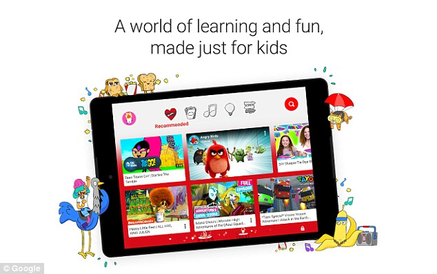 يوتيوب للاطفال