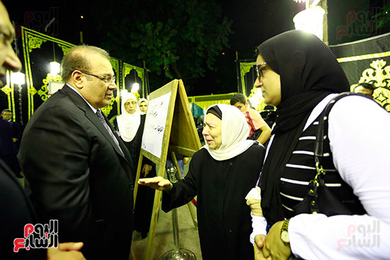 صور عزاء شقيقة الدكتور حسن راتب (27)