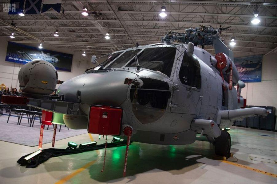 """طائرة هليكوبتر طراز """"MH-60R"""""""