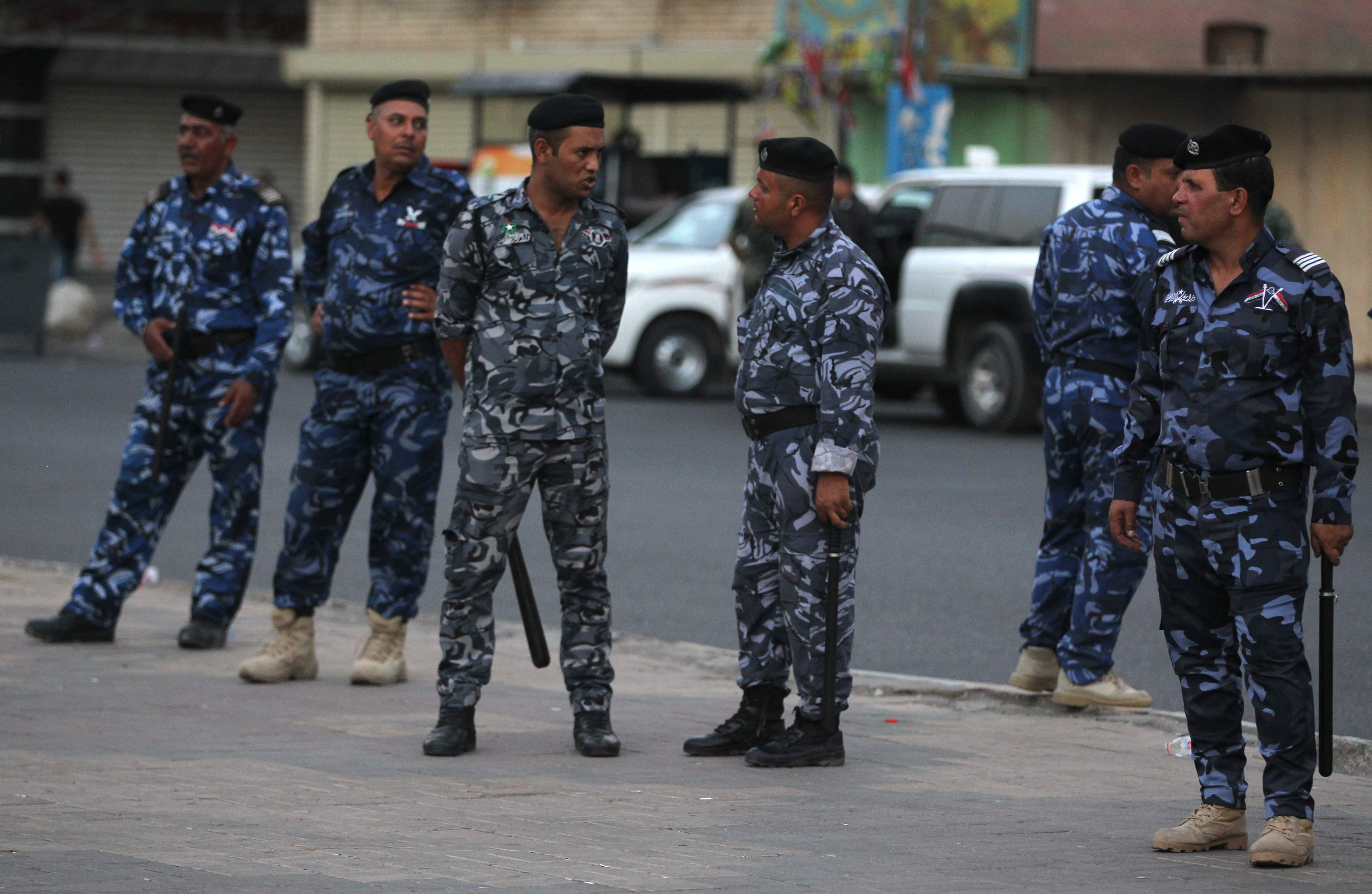القوات العراقية في البصرة