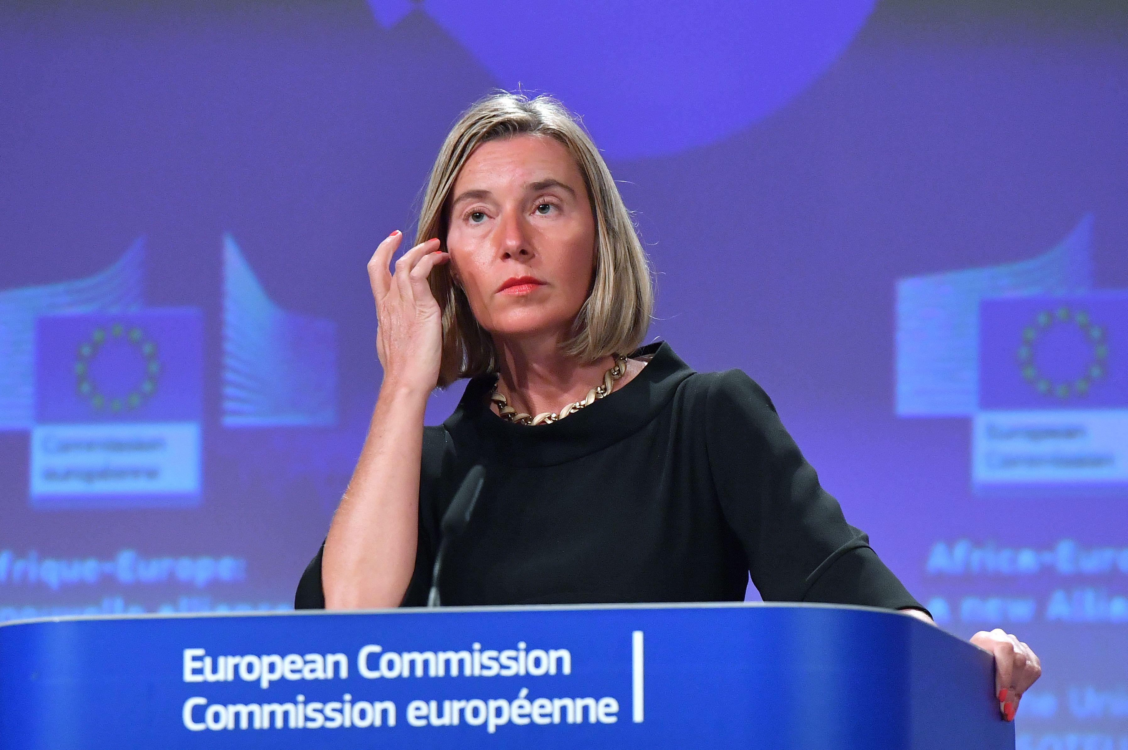 رئيسة السياسة الخارجية للاتحاد الأوروبي