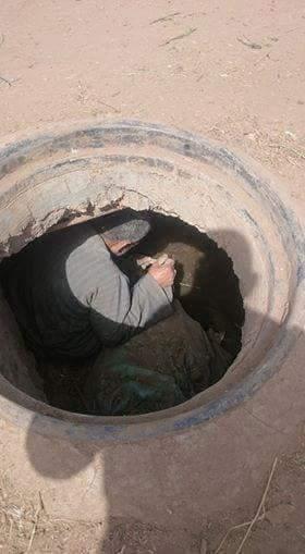 تطهير غرف الصرف