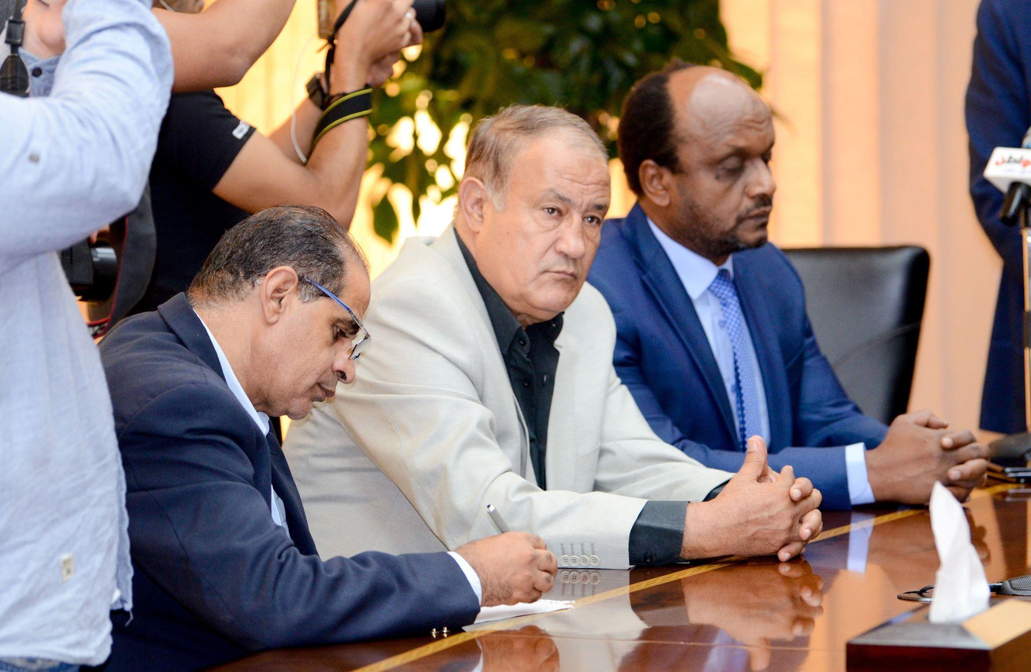 جلسة مجلس الزمالك مع وزير المالية (4)
