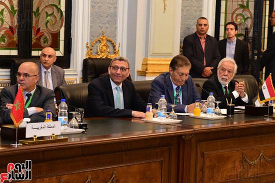 الندوة البرلمانية العربية للاتحاد البرلماني العربي المنعقدة بمجلس النواب (24)