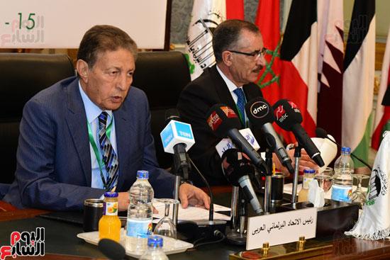 الندوة البرلمانية العربية للاتحاد البرلماني العربي المنعقدة بمجلس النواب (13)