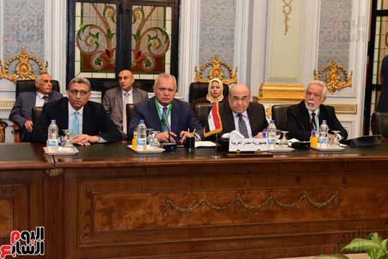 الندوة البرلمانية العربية للاتحاد البرلماني العربي المنعقدة بمجلس النواب (16)