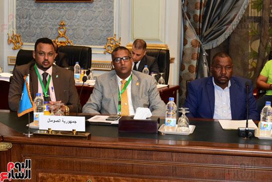 الندوة البرلمانية العربية للاتحاد البرلماني العربي المنعقدة بمجلس النواب (11)
