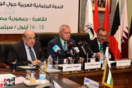 الندوة البرلمانية العربية للاتحاد البرلماني العربي المنعقدة بمجلس النواب (25)