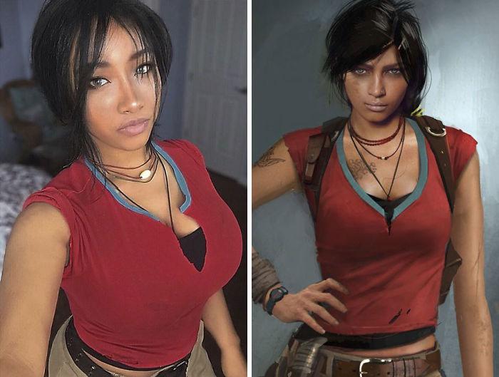شخصية chloe من لعبة Uncharted