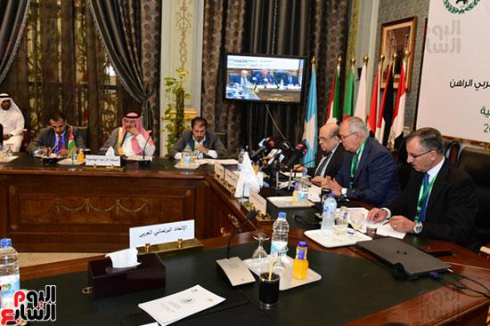 الندوة البرلمانية العربية للاتحاد البرلماني العربي المنعقدة بمجلس النواب (26)