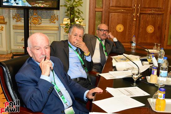 الندوة البرلمانية العربية للاتحاد البرلماني العربي المنعقدة بمجلس النواب (3)