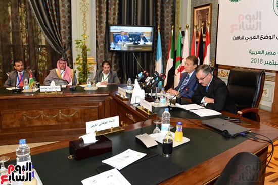 الندوة البرلمانية العربية للاتحاد البرلماني العربي المنعقدة بمجلس النواب (8)