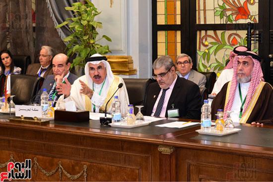 الندوة البرلمانية العربية للاتحاد البرلماني العربي المنعقدة بمجلس النواب (2)