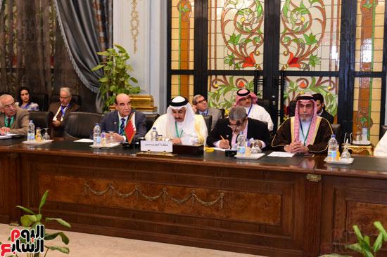 الندوة البرلمانية العربية للاتحاد البرلماني العربي المنعقدة بمجلس النواب (18)