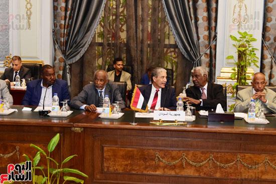 الندوة البرلمانية العربية للاتحاد البرلماني العربي المنعقدة بمجلس النواب (17)