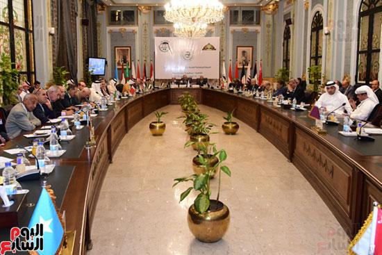 الندوة البرلمانية العربية للاتحاد البرلماني العربي المنعقدة بمجلس النواب (6)