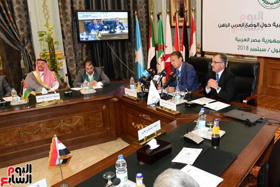 الندوة البرلمانية العربية للاتحاد البرلماني العربي المنعقدة بمجلس النواب (12)