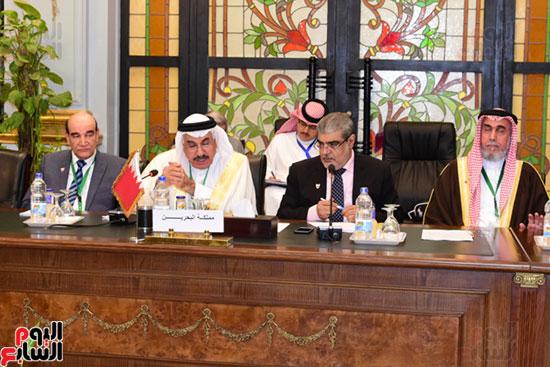 الندوة البرلمانية العربية للاتحاد البرلماني العربي المنعقدة بمجلس النواب (1)